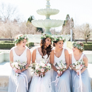 CITARE & McKALE Spring Pastel Wedding at The Royal Botanical Gardens, Hamilton